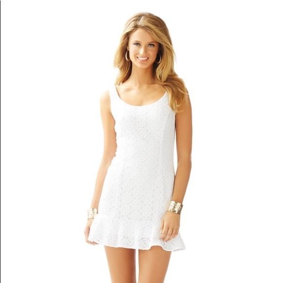 Lilly Pulitzer Dresses & Skirts - Lilly Pulitzer Sevilla Crochet Dress Size M